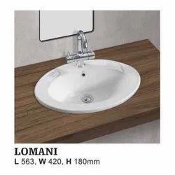 Lomani Top Counter Wash Basin