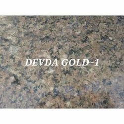 Devda Gold Granite, Thickness: 15-20 mm