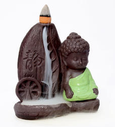 Buddha Meditation Smoke Fountain (Green) Buddha Maditation Smoke Fountain / Buddha Meditation Incens