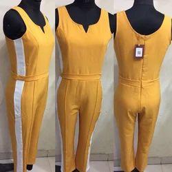 Ladies Yellow Jumpsuit