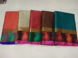 Beautiful Banarsi Cotton Self Weaving Saree