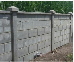 Boundary Wall Concrete Boundary Wall Manufacturer From