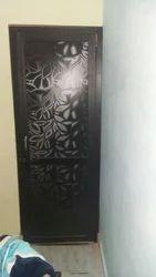 Interior Solid Wooden Door, For Home, 6.8 X 2.8 Ft