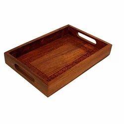 Rectangular Wooden Wood Serving Tray