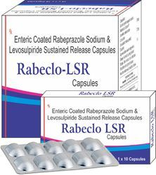 Enteric Coated Rabeprazole Sodium & Levosulpiride Sustained Release Capsules