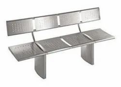 SS Bench With Back Support