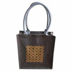 Open Printed Jute Carry Bag, Capacity: 2 Kg