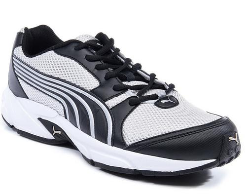 ea763436b8c Men Puma Neptune White And Black Running Shoes, Rs 2125 /pair   ID ...