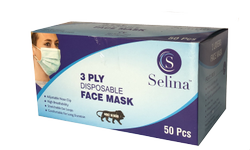 3 Ply Disposable Face Mask (25%) Offer