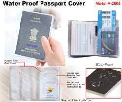 Water Proof Passport Cover H-2505