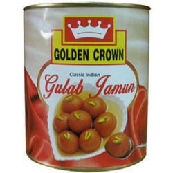 Khoya CANNED GULAB JAMUN, Packaging Size: 1 Kg, Packaging Type: Tin Container