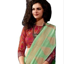 Linen Weaving Saree