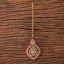 Brass Mehandi Plated Antique Classic Tikka 203510
