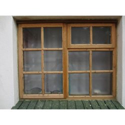 Wood Designer Wooden Window, Size/Dimension: 4 X 3.5 Feet, Rectangle
