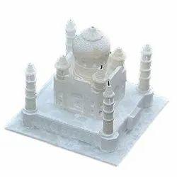 Indoor White Marble Taj Mahal