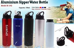 Aluminum Sipper Water Bottle H-142
