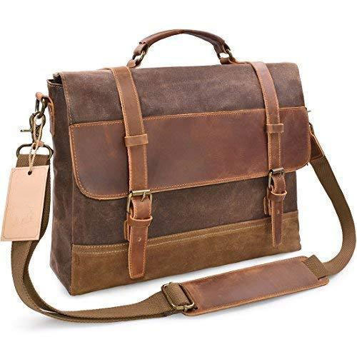 24aeea5f3853 Brown Mens Leather Laptop Bags