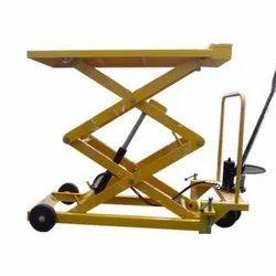 Manual Hydraulic Scissors Lift Tables