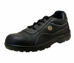 Tektron Marshal Upper皮革安全鞋,用于工业,包装类型:盒子