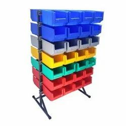 35 Double Sided Bin Stand