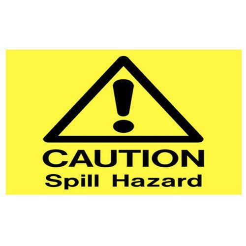 hazard sign board at rs 350 square feet broadway chennai id