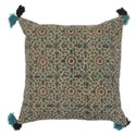 Floral Printed Cotton Cushion Cover