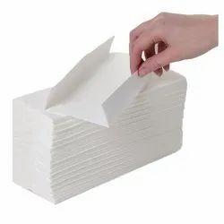 C Fold Tissue Napkin, Size: 21 X 23 cm