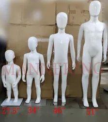 Glossy White Kids Mannequins