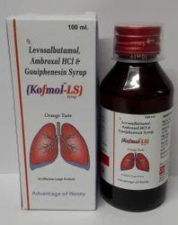 Levosalbutamol , Ambroxal HCL , Guaiphenesin Syrup