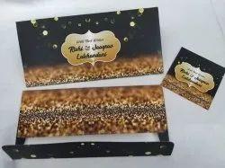 Paper Rectangular Designer Shagun Envelope for Special Occasions/Wedding