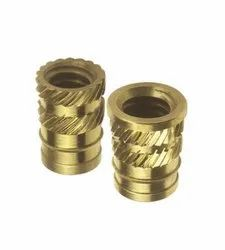 Brass Conical Inserts With Dual Knurling