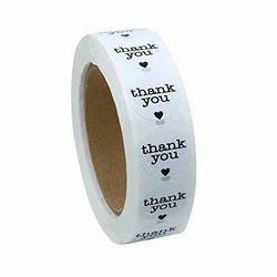 White Blitz Sticker Roll, Packaging Type: Packet