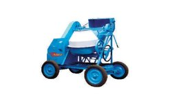 ABLE Concrete Mixer With Diesel Engine