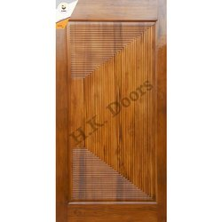 African Teak Wood Carving Door