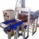 Vertical Hydraulic Thali Machine