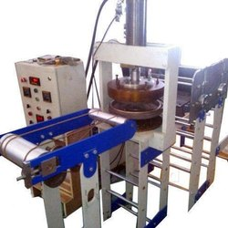 Vertical Hydraulic Thali Machine