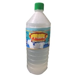 Pride Fabric Whitener Bleach Liquid,  1 Litre Bottle, CAS No- 7681-52-9