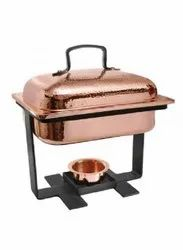 Round Copper Chafing Dish - Soverign