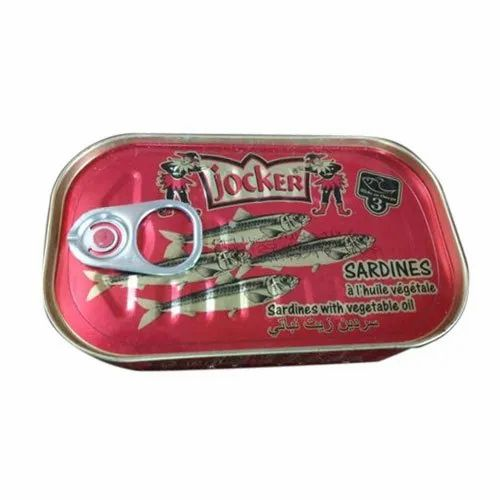 Jocker Canned Sardines with Vegetable Oil