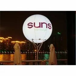 Sky Advertising LED PVC Inflatable Balloon