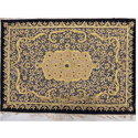 Indian Embroidery Jewel Carpet