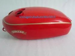 New Vincent  Hrd Red Painted Petrol Tank