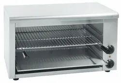 Stainless Steel Electric Oven Toaster Griller, Size: 24 x 13 x 12, for Restaurant