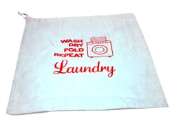 16 x 20 Inches Laundry Pick Up Delivery Bag