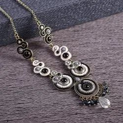 Black Long Ladies Designer Necklace