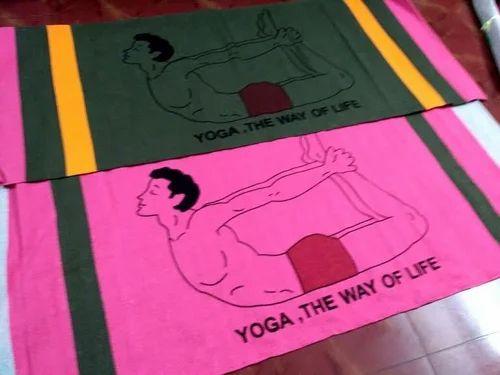 Yoga Accessories Hand Loom Cotton Eco Friendly Yoga Mat