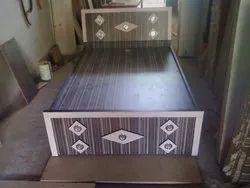 Designer Wooden Double Bed