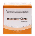 Isotretinoin (Micronised) (Isoret-10/20 mg) Softgel Cap