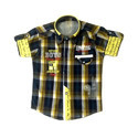 Multicolor Cotton Kids Check Shirt