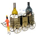 Wine Bottle Stand Bottle Stand Home Decorative Showpiece Gift Item